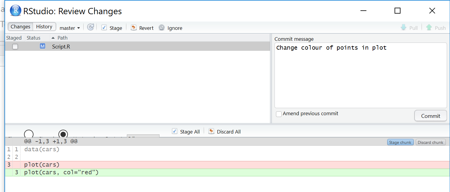 Version Control with RStudio and GitHub